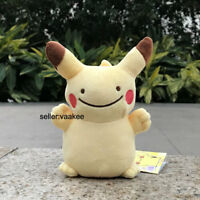 "Pokemon Center Go Plush Toy Pikachu Ditto Metamorph 6.5"" Cute Stuffed Doll Gift"