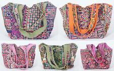 Lot 5 Pc Handmade Tote Bag Shopping Bag Banjara Bags Bohemian Gypsy Bag