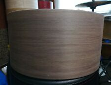 14x6.5 black walnut solid steambent red oak snare drum shell by Erie drums