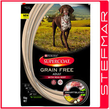 Supercoat Dog Grain Free Adult Beef 15kg