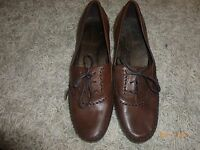 MARKS AND SPENCER  LADIES REAL LEATHER  SHOES SIZE 6.5/40 RRP 39.50