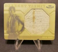 2011 UFC Finest Threads Jumbo Relics Printing Plates Yellow #JR-JA Jose Aldo 1/1
