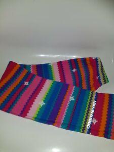 Girls Ski Thermal Leggings Size Medium 8 Years Multicolore (A3)
