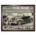 Advert Car Automobile 1940 Classic Packard 12X16 Inch Framed Art Print