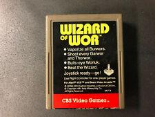 Wizard of Wor (Atari 2600, 1982) CBS Video Games RARE Tested!!!