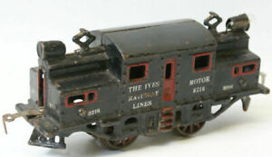 RARE Vintage O Gauge Original Cast Iron 1917 IVES #3216 Electric Locomotive