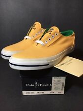 NEW POLO RALPH LAUREN CP RL 92 YELLOW SNEAKERS SIZE 9.5 VINTAGE NOS STADIUM 93 9