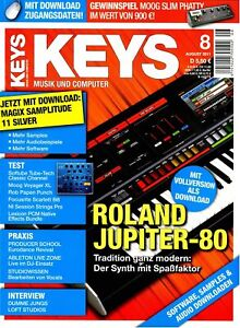 Roland Jupiter-80 im Test - Keys DVD mit Loops Samples Workshops und Tests