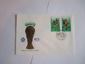 Fußball WM 1982 i.Spanien. Pokal an Spanien mit Brief. Deutschland Vize -WM