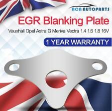 Egr Blanking Block Plate Vauxhall Opel Astra G Meriva Vectra 1.4 1.6 1.8 16V