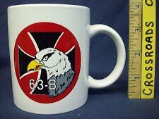 N.O.S. Germany German 63-B bomb group porcelain china Coffee Tea Mug Cup NEW