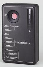 LawMate Anti-Spy Detector Hidden Camera Bug Finder GPS Signal Lens RF Tracker
