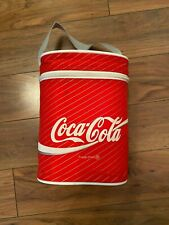 Official Coca Cola Coke Cooler Bag 4 Bottle Size From 1987 - RARE