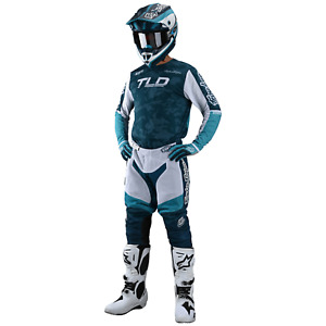 Troy Lee Designs Gear Combo TLD MX Motocross GP AIR Pants Jersey VELOCE MARINE