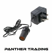 Converter 230V 12V Use Items From The Mains In Car Lighter Adapter 1.6m 783178