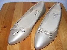 Daniel Hechter  Gr. 37 beige Pumps Slipper Ballerinas klassisch flach NEU