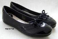 NEW CLARKS JACKPOT WOMENS BLACK LEATHER SHOES PUMPS