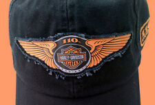 HARLEY DAVIDSON 110TH ANNIVERSARY WING LOGO BALL CAP HAT