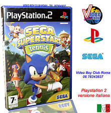 SEGA SUPERSTARS TENNIS GIOCO NUOVO PER SONY PLAYSTATION 2 PS2 EDIZIONE ITALIANA
