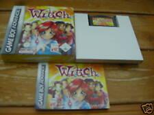 Witch GBA komplett mit OVP und Anleitung