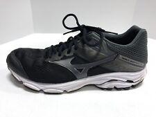 Mizuno Wave Inspire 15 Grey/Black/White Running Shoes Men's Size 12.5M