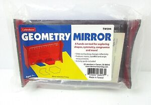 NEW Lakeshore Geometry Mirror Hands-on Tool Symmetry Congruence Shapes BH2