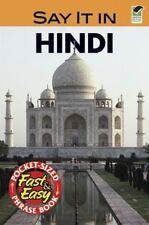 Say It in Hindi [Dover Language Guides Say It Series] [English and Hindi Edition