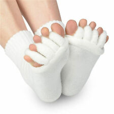 Two Pair's Comfy Toes Foot Alignment Sock Relief for bunions hammer toes cramps