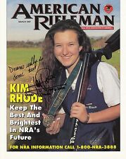 Kim Rhode: Olympia Gold 1996, 2004,2012 Schießen USA