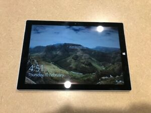 Microsoft Surface Pro 3 i5 4GB 128GB Tablet 12in WIFI Windows 10 Pro x64