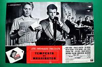 T06 Fotobusta Storm Auf Washington Acht Preminger Walter Pidgeon Henry Fonda