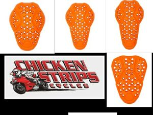 NEW ICON D3O LP2 ARMOR ALL PCS  MOTORCYCLE ADVENTURE DUAL SPORT