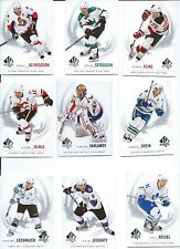 2009-10 SP Authentic HOCKEY Complete your set 25 card lot W/ STARS