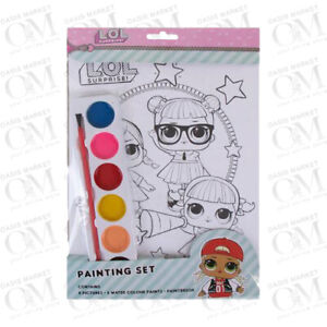 LOL Surprise Official Painting Set Art Picture Book Kids Crafts Home Learning