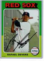 Rafael Devers 2019 Topps Archives 5x7 #147 /49 Red Sox