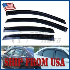 USA Car Smoke Window Visors Rain Sun Vent Guard For Chevy Impala 2006-2011 FM