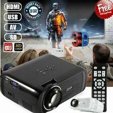 LED Projector Home Cinema BL-80 Support PC Laptop USB TV Box iPad Smartphone USA