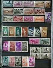 Guinea Stamp Collection, of Mainly Mint Hinged & a few Used, 42 Different Stamps