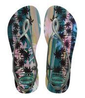 Havaianas Brazil Women Slim Flip Flops Sexy Luna Sandal