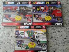 K'NEX Nascar 14 , 24 & 88 (Lot of 3 & 270 pcs/ box ) New & Sealed