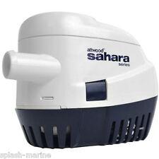 Attwood Sahara S1100 12 Volts Auto Bateau Pompe Assèchement 1100GPH - Haut de