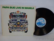 ARNE BLUE JENSEN Papa Blue Live In Manila LP V-King VLP-100 Denmark 1980