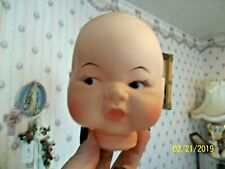 Vintage Doll Head 💖 Plated Moulds iNc. 1961 Nos