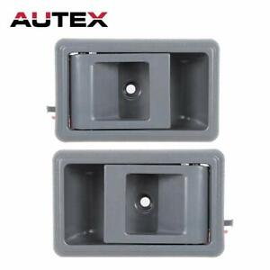 AUTEX 2pcs Gray Interior Door Handles Compatible with Toyota Tacoma 1995-2000...