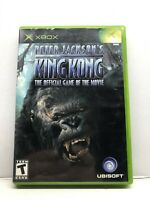 Peter Jackson's King Kong: The Official Game of the Movie (Xbox, 2005) Complete