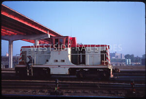 Original Slide - St Paul Union Depot GE 44-Tonner #441 May 68 SPUD Hwy 52 Bridge