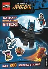 Lego DC Comics Super Heroes: Batman listo, estable, palo! (la etiqueta Engomada de actividad..