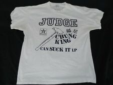 JUDGE NYC HARDCORE LIMITED EDITION TSHIRT SIZE XL BLACK AND BLUE BOWL MAY 2013