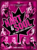 WWE Hart And Soul The Hart Family Anthology 3x DVD DEUTSCHE VERKAUFSVERSION