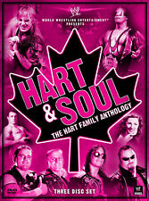 WWE Hart And Soul The Hart Family Anthology 3x DVD DEUTSCHE VERKAUFSVERSION